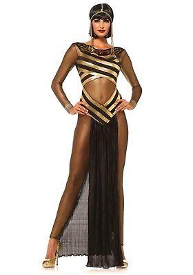 LAG Leg Avenue 85512 Damen Kostüm Nile Queen Cleopatra Ägypten Pharao S M (Ägypten Pharaonen Kostüm)