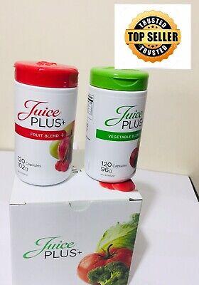 JUICE PLUS+ Supplements (Fruits & Veg ) 2 x120 CAPSULES (best before...
