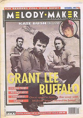 GRANT LEE BUFFALO / KATE BUSH / COCTEAU TWINSMelody Maker  6Nov1993