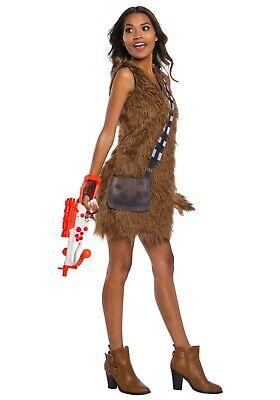 Chewbacca Womens Costume (WOMEN'S STAR WARS CHEWBACCA DRESS COSTUME SIZE SMALL 6-10 (missing)