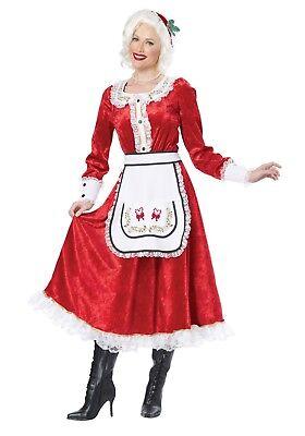 CALIFORNIA COSTUMES CLASSIC MRS CLAUS CHRISTMAS HOLIDAY SANTA COSTUME - Mrs Santa Costumes
