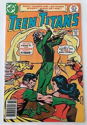 TEEN TITANS #46  DC, 1977 Joker's Daughter - Joker Teen