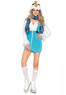 LAG Leg Avenue 85524 Sexy Damen Kostüm Schneemann - Schneemann Kostüm Damen