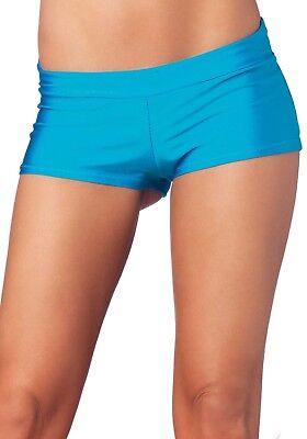 Leg Avenue Boys Shorts (Sexy Boy Shorts - Gr.M - Farbe Türkis - Leg Avenue- Sexy & Feminin)