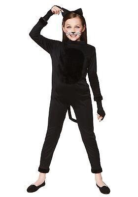 Girl Cat Costumes (Girl's Black Cat Costume)