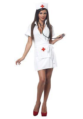 Adult Nurse Halloween Costume - Nurse Halloween