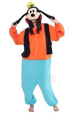 SAZAC Goofy Kigurumi - Adult Costume from USA - Adult Goofy Costume