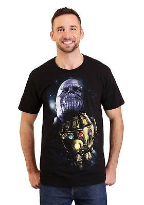 Infinity T-shirt - Thanos Infinity Stones Men's Black T-Shirt