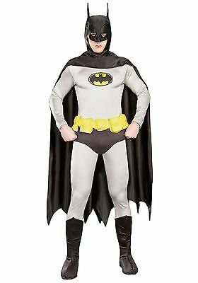 BATMAN GRAND HERITAGE ADULT COSTUME SIZE LARGE RUBIES - Batman Grand Heritage Costume