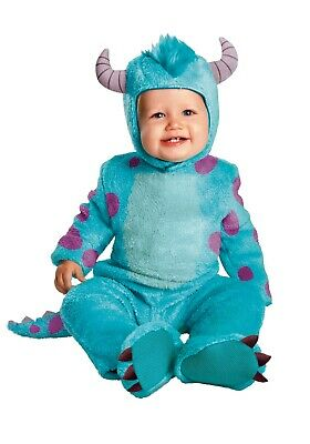 Monster Inc Costumes (Infant Sulley Monster Inc Disney Pixar Costume SIZE 12-18mth (missing)