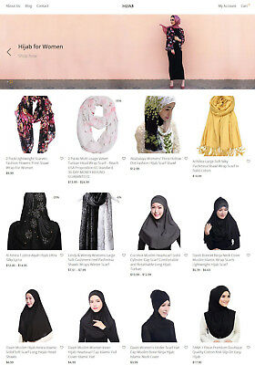 Hijab Store Website - Ecommerce Amazon Affiliate
