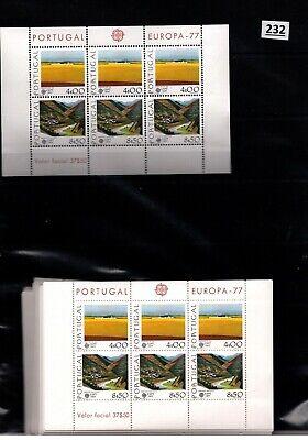 # 100X PORTUGAL - MNH - EUROPA CEPT 1977 - NATURE - WHOLESALE