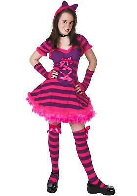 Baby Cheshire Cat Costume (CHILD TEEN ALICE IN WONDERLAND CHESHIRE CAT COSTUME USED (with)
