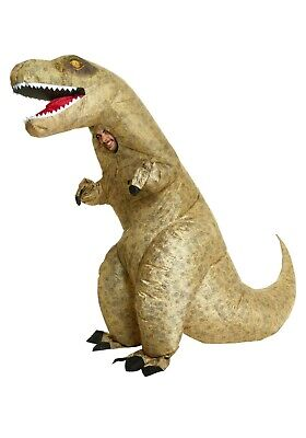 Adult Inflatable Giant T-Rex Dinosaur Costume SIZE STANDARD (Used)