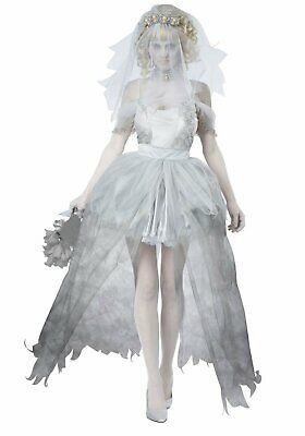 California Costumes 01287 Adult Ghostly Bride