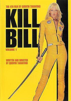 Kill Bill Volume 1 ~ Uma Thurman Lucy Liu ~ DVD WS dts ~ FREE Shipping USA