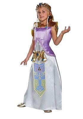 Princess Zelda Child Costume (CHILD DELUXE ZELDA COSTUME SIZE XL (missing)