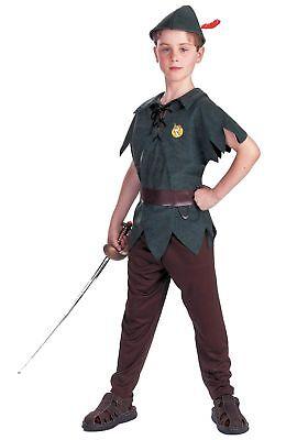 Child Peter Pan Costume - Male Peter Pan Costume