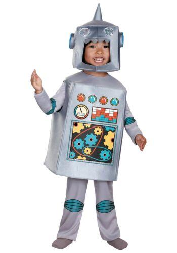 Toddler Retro Robot Costume SIZE 4-6 (Used)