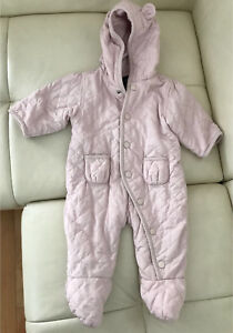 Gap baby girl winter jumper snowsuit like new