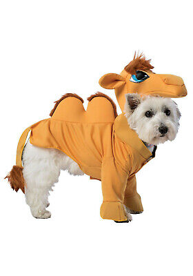DOG FANCY DRESS COMIC CAMEL COSTUME SMALL LARGE SIZES