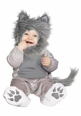 Infant / Toddler Lil' Wolf Cub Costume - Wolf Toddler Costume