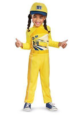 Cruz Classic Toddler Disney Cars 3 Movie Fancy Dress Halloween Child Costume 4-6