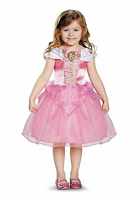 AURORA DISNEY CLASSIC TODDLER COSTUME Size Large 4-6 (with defect) - Aurora Costume Toddler