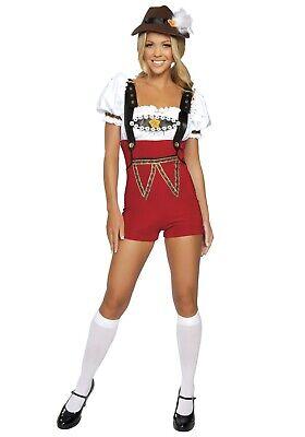 WOMEN'S GERMAN BEER STEIN BABE COSTUME SIZE M/L