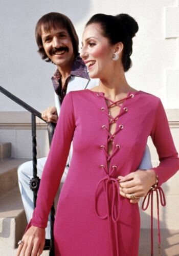 SONNY AND CHER - MUSIC PHOTO #E-65