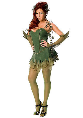 Poison Ivy Superhero Adult Women Costume Small (Poison Ivy Women)