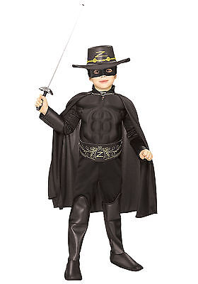Zorro Costume Kids (Zorro - Deluxe Child Costume)