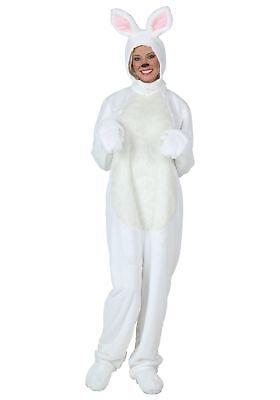 Plus Size White Bunny Costume - Bunny Costume Male