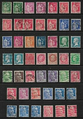 FRANCE mixed collection No.121, incl Peace, Marianne, used
