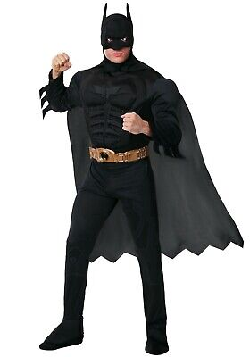 Adult Deluxe Dark Knight Batman Costume SIZE XS (Used)