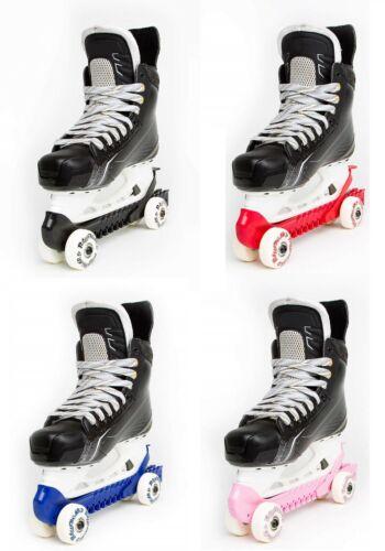 RollerGard Rolling Skate Guards, Turn Hockey Skates into Roller Skates - 1 Pair