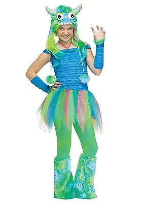 Blue Beastie Costume for Teens Juniors Size 0-9 New by Fun World 122983 - Fun Costumes For Teens