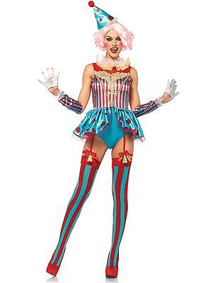 LAG Leg Avenue 85620 Delightful Circus Clown Zirkus Manege Kostüm - Leg Avenue Clown Kostüm