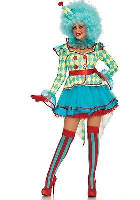 LAG Leg Avenue L085637 Fasching Damen Kostüm Carnival Clown Zirkus Harlekin Narr