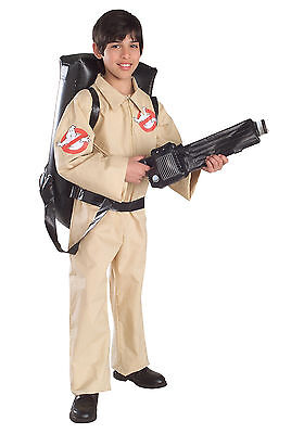 Ghostbusters - Child Ghostbuster Costume with Inflatable Proton Pack - Ghostbusters Kids Costume