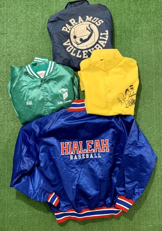 Vintage 80s/90s Jackets Lot. All in good condition. See all pics.