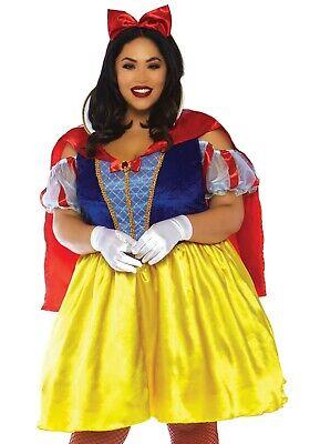 LAG Leg Avenue 86765X Schneewittchen Fairytale Snow White Damen Karneval - Snow White Komplett Kostüm