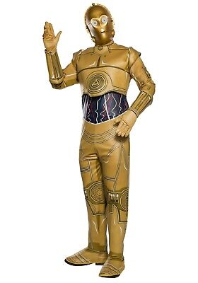 3po Costume (ADULT STAR WARS C-3PO COSTUME SIZE STANDARD (with)