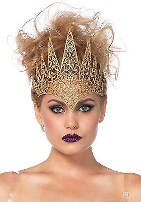 Karneval Klamotten Krone Böse Königin Luxus Zubehör Schneewittchen Karneval