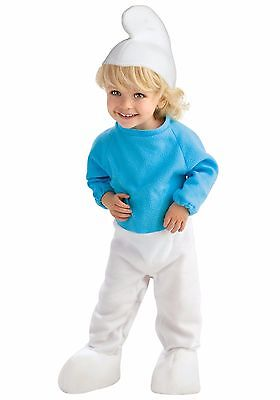 Smurf Costume Baby/Toddler Halloween sz 2-4 Dress Up The Smurfs Rubies New