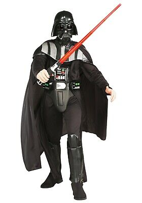 ADULT DELUXE DARTH VADER COSTUME USED SIZE XL ()