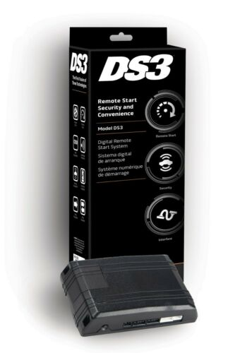 DS3 Directed Electronics Low Current Remote Start System NEW