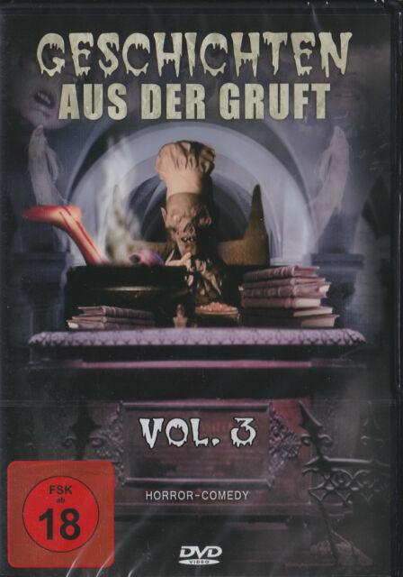 Geschichten aus der Gruft - Vol. 3 - DVD - Neu und originalverpackt in Folie