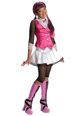 Monster High Theme Colors (Monster High Draculaura Child Costume Funny Colorful Theme Party Funny)