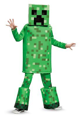 Minecraft Costume Creeper (Minecraft Creeper Prestige Boys)